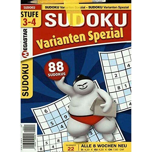 Sudoku Varianten Spezial - Sudoku Varianten Spezial 22/2019 Sudoku - Preis vom 11.06.2021 04:46:58 h