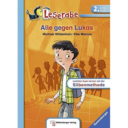 Michael Wildenhain - Alle gegen Lukas (Leserabe mit Mildenberger Silbenmethode) - Preis vom 14.06.2021 04:47:09 h