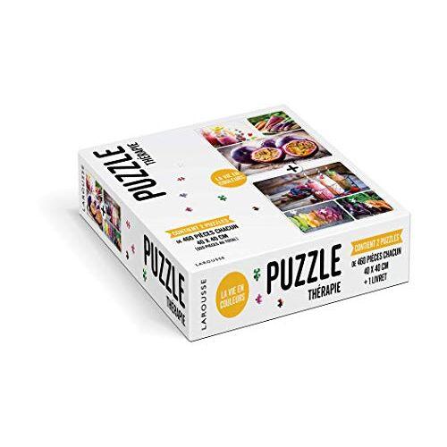 Larousse - Puzzle Thérapie - La vie en couleurs - Preis vom 15.10.2021 04:56:39 h