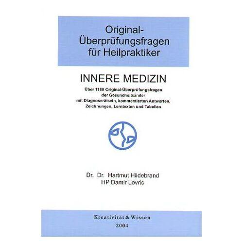 Hartmut Hildebrand - Hildebrand, Hartmut; Lovric, Damir : Innere Medizin - Preis vom 15.06.2021 04:47:52 h