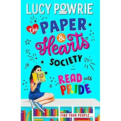Lucy Powrie - Read with Pride: Book 2: Find your people in this joyful, comfort read – the perfect bookish story for the Snapchat generation. (The Paper & Hearts Society) - Preis vom 14.06.2021 04:47:09 h