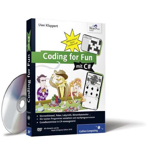 Uwe Klappert - Coding for Fun mit C#: Garantiert kein Lehrbuch! (Galileo Computing) - Preis vom 17.06.2021 04:48:08 h