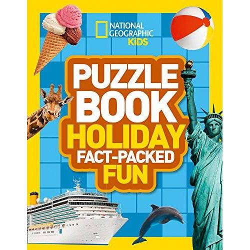 National Geographic Kids - Puzzle Book Holiday: Brain-Tickling Quizzes, Sudokus, Crosswords and Wordsearches (National Geographic Kids Puzzle Books) - Preis vom 16.06.2021 04:47:02 h