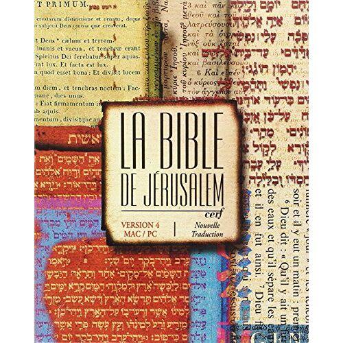 Collectif - LE CD ROM BIBLE DE JERUSALEM VERSION 4 (BIBLE JERUSALEM) - Preis vom 16.06.2021 04:47:02 h
