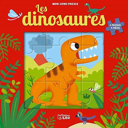 Jean-Sébastien Deheeger - Mon livre puzzle 9 pièces: Les dinosaures- Dès 2 ans: 5 puzzles 9 pièces - Preis vom 23.09.2021 04:56:55 h