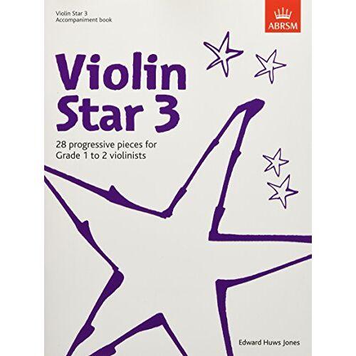 - Violin Star 3, Accompaniment book (Violin Star (ABRSM)) - Preis vom 21.06.2021 04:48:19 h