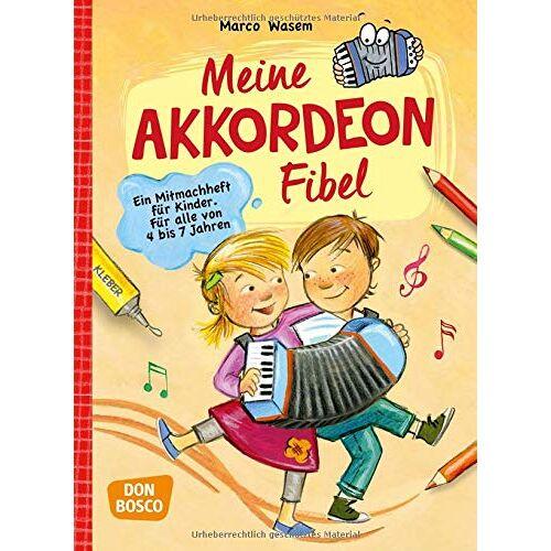 Marco Wasem - Meine Akkordeon-Fibel: Ein Mitmachheft für Kinder Für alle von 4 bis 7 Jahren - Preis vom 19.06.2021 04:48:54 h