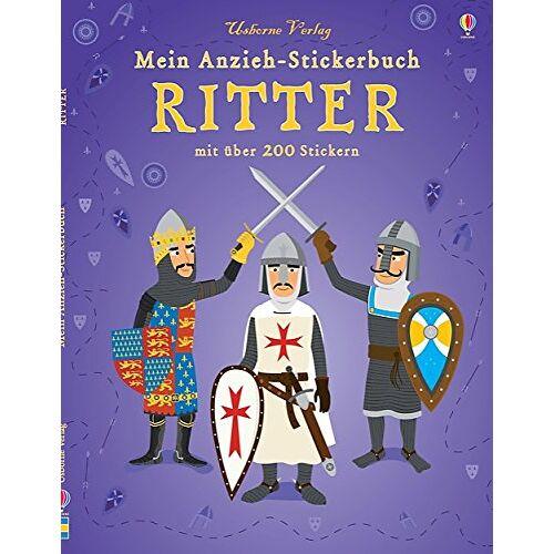 Kate Davies - Mein Anzieh-Stickerbuch: Ritter: Usborne zum Mitmachen - Preis vom 23.09.2021 04:56:55 h