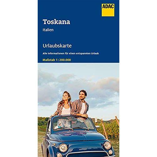 - ADAC Urlaubskarte I Toskana 1:200 000 (ADAC Urlaubskarten) - Preis vom 25.09.2021 04:52:29 h