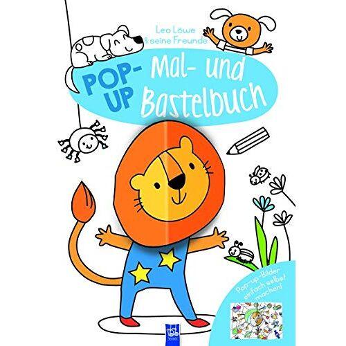 - Pop-Up Mal- und Bastelbuch - Löwe - Preis vom 17.06.2021 04:48:08 h