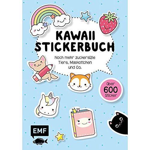 - Kawaii Stickerbuch – Band 2: Noch mehr zuckersüße Tiere, Maskottchen und Co. - Preis vom 17.06.2021 04:48:08 h