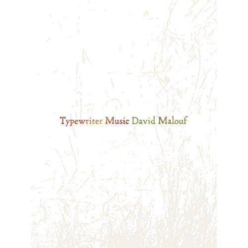 David Malouf - Typewriter Music - Preis vom 13.06.2021 04:45:58 h