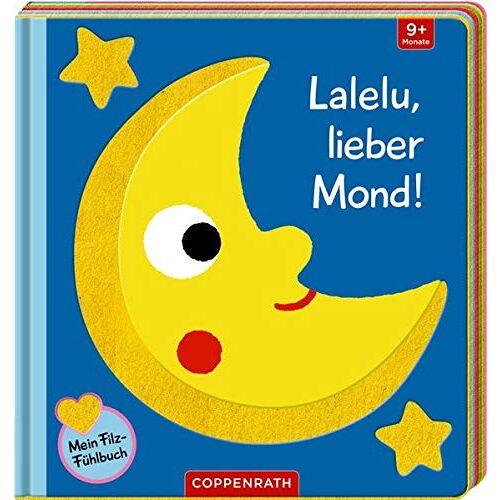 - Mein Filz-Fühlbuch: Lalelu, lieber Mond! - Preis vom 19.06.2021 04:48:54 h