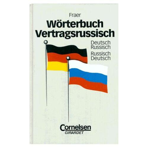 Tatjana Fraer - Wörterbuch Vertragsrussisch: Deutsch-Russisch/Russisch-Deutsch - Preis vom 21.06.2021 04:48:19 h