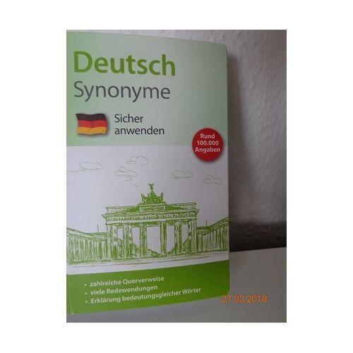 - Deutsch Synonyme Sicher anwenden - Preis vom 12.06.2021 04:48:00 h