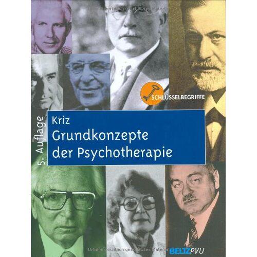 Jürgen Kriz - Grundkonzepte der Psychotherapie - Preis vom 17.09.2021 04:57:06 h