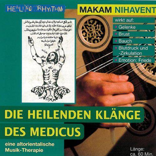 - Musik-Therapien - Die heilenden Klänge des Medicus - Paket. Rast /Hicaz /Nihavent /Hüseyni: Musik-Therapien - Die heilenden Klänge des Medicus - ... Musik- Therapie. Healing Rhythm: Tl 3: TEIL 3 - Preis vom 19.06.2021 04:48:54 h