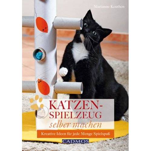Marianne Keuthen - Katzenspielzeug selbst machen: Kreative Ideen für jede Menge Spielspaß - Preis vom 25.07.2021 04:48:18 h