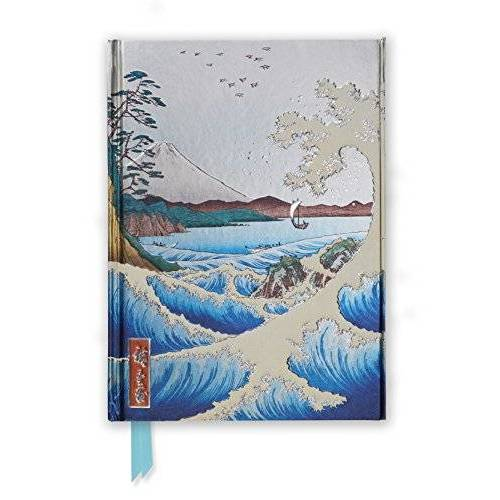 Hiroshige - Hiroshige: The Sea at Satta (Foiled Journal) (Flame Tree Notebooks, Band 28) - Preis vom 09.06.2021 04:47:15 h