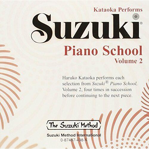 Shinichi Suzuki - Suzuki Piano School Piano CD 2: Performed by Haruko Kataoka (Suzuki Method Core Materials) - Preis vom 21.06.2021 04:48:19 h