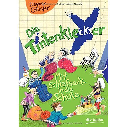 Dagmar Geisler - Die Tintenkleckser - Mit Schlafsack in die Schule (dtv junior) - Preis vom 15.06.2021 04:47:52 h