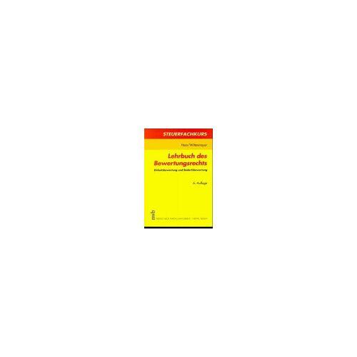 Horst Haar - Lehrbuch des Bewertungsrechts. Einheitsbewertung und Bedarfsbewertung - Preis vom 13.06.2021 04:45:58 h