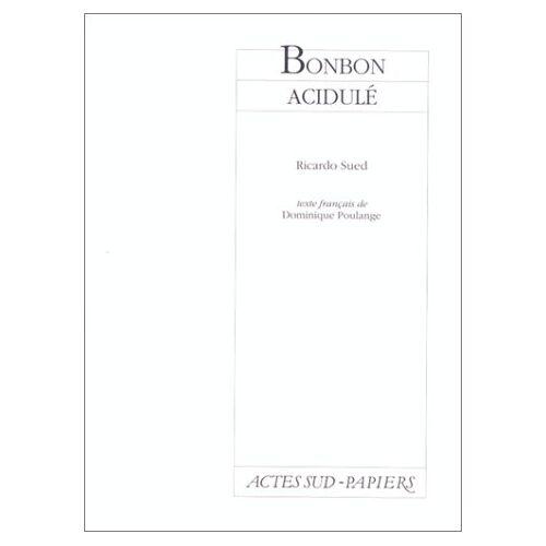 Ricardo Sued - Bonbon Acidule (Papiers) - Preis vom 17.06.2021 04:48:08 h
