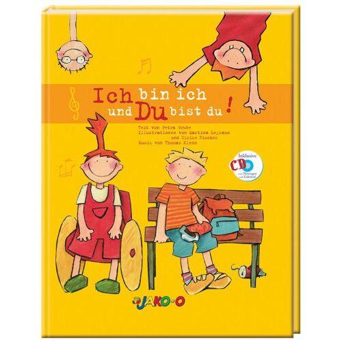 Petra Grube - Ich bin ich und du bist du. Kinderbuch inkl. CD - Preis vom 31.07.2021 04:48:47 h