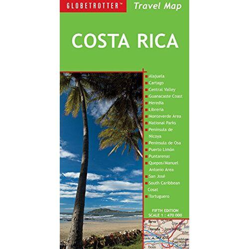 Globetrotter - Globetrotter Travel Map Costa Rica - Preis vom 23.09.2021 04:56:55 h