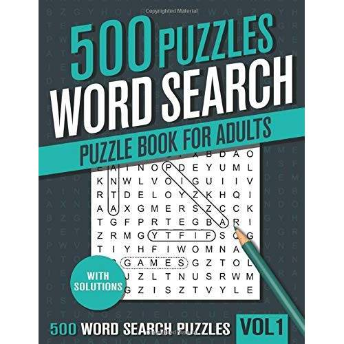 visupuzzle books - 500 Word Search Puzzle Book for Adults: Big Puzzlebook with 100 Hidden Word Find Puzzles for Seniors, Adults and all other Puzzle Fans - Preis vom 23.09.2021 04:56:55 h