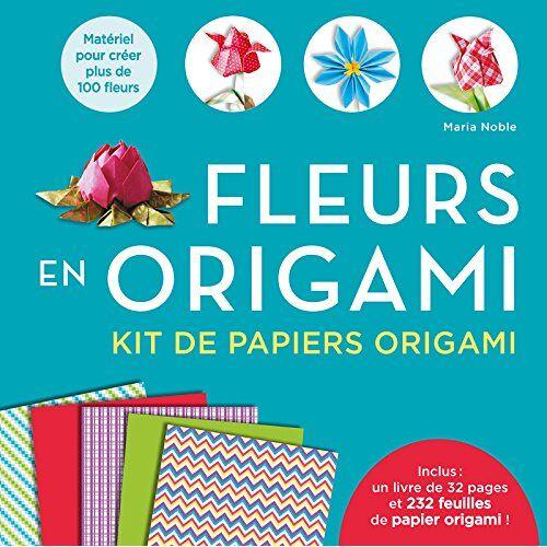 Maria Noble - Fleurs en origami : Kit de papiers origami : 1 livre et 232 feuilles de papier origami - Preis vom 14.06.2021 04:47:09 h