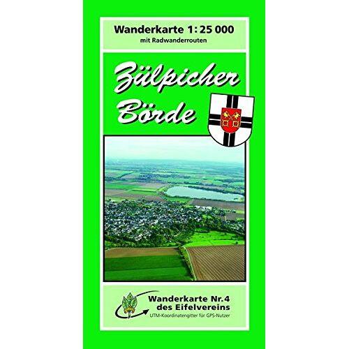 - WK Zülpich: Wanderkarte Nr. 4 des Eifelvereins - Preis vom 27.10.2021 04:52:21 h