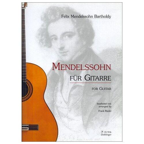 Felix Mendelssohn Bartholdy - Mendelssohn für Gitarre - Preis vom 19.06.2021 04:48:54 h
