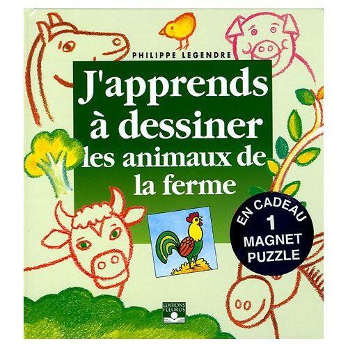 Philippe Legendre - Les animaux de la ferme : Avec un magnet puzzle - Preis vom 30.07.2021 04:46:10 h