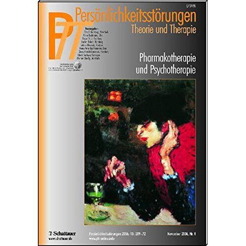 Kernberg, Otto F. - Persönlichkeitsstörungen PTT / Pharmakotherapie und Psychotherapie - Preis vom 19.06.2021 04:48:54 h