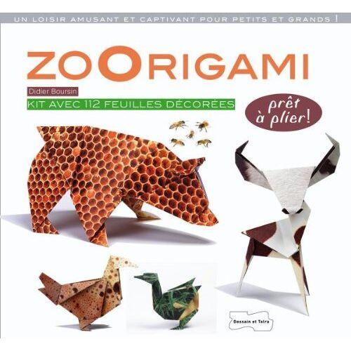 Didier Boursin - ZoOrigami - Preis vom 22.06.2021 04:48:15 h