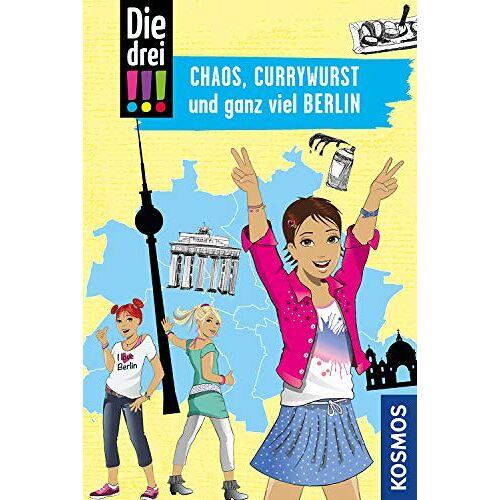 Kirsten Vogel - Die drei !!!, Chaos, Currywurst und ganz viel Berlin - Preis vom 13.06.2021 04:45:58 h