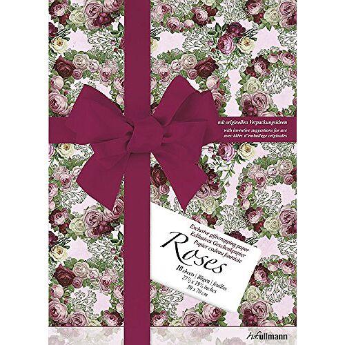 """- Geschenkpapier """"Kreativ"""": Roses: Exklusives Geschenkpapier mit originellen Verpackungsideen (Giftwrap Papers) - Preis vom 13.06.2021 04:45:58 h"""