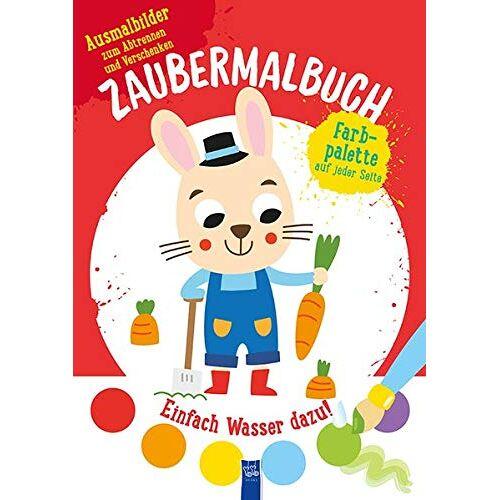 - Zaubermalbuch - Hase (rot): Mit Pinsel und Farbpalette - Preis vom 19.06.2021 04:48:54 h