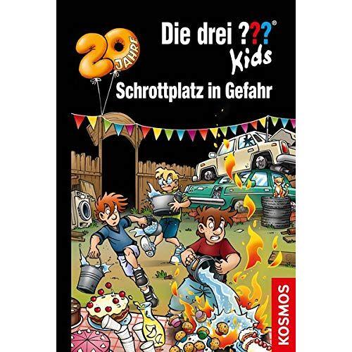 Ulf Blanck - Die drei ??? Kids, 78, Schrottplatz in Gefahr - Preis vom 13.06.2021 04:45:58 h