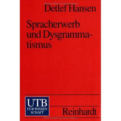 Detlef Hansen - Spracherwerb und Dysgrammatismus - Preis vom 12.10.2021 04:55:55 h
