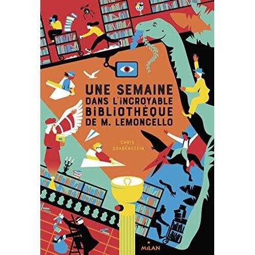 - M. Lemoncello : Une semaine dans l'incroyable bibliothèque de M. Lemoncello - Preis vom 20.06.2021 04:47:58 h