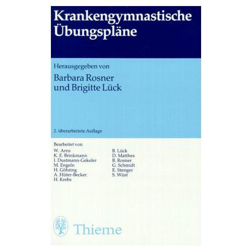 Barbara Rosner - Krankengymnastische Übungspläne - Preis vom 09.06.2021 04:47:15 h