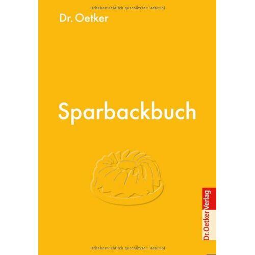 Dr. Oetker - Sparbackbuch - Preis vom 17.06.2021 04:48:08 h
