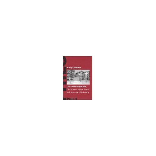 - Geschichte der Juden in Wien, 6 Bände, Bd.6, Die vierte Gemeinde. Die Wiener Juden in der Zeit von 1945 bis heute - Preis vom 14.06.2021 04:47:09 h