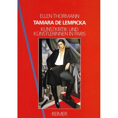Ellen Thormann - Tamara de Lempicka - Preis vom 15.06.2021 04:47:52 h