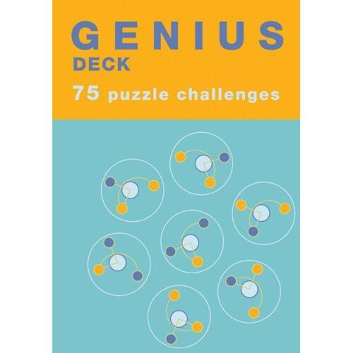 Chronicle Books Staff - Genius Deck Puzzle Challenges (Genius Decks) - Preis vom 25.07.2021 04:48:18 h
