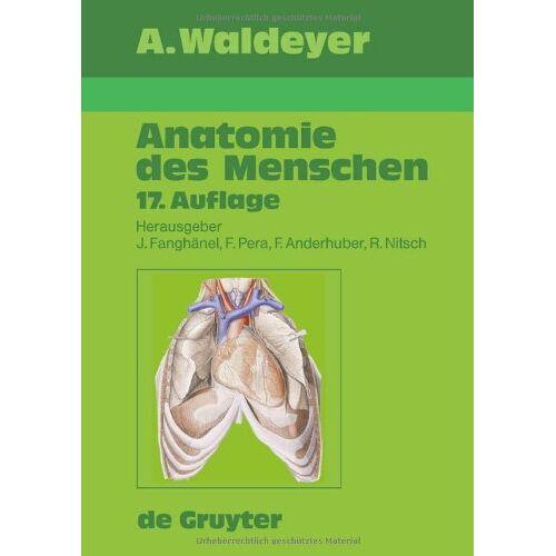 Anton Waldeyer - Anatomie des Menschen - Preis vom 09.06.2021 04:47:15 h