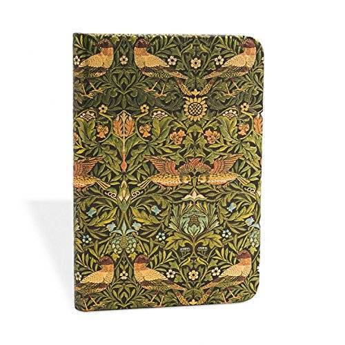 - William Morris Vögel - Notizbuch Mini Liniert - Paperblanks - Preis vom 11.06.2021 04:46:58 h