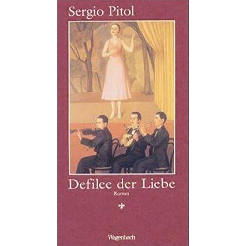 Sergio Pitol - Defilee der Liebe (Quartbuch) - Preis vom 22.06.2021 04:48:15 h
